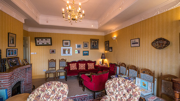 Front Room at Herrislea House