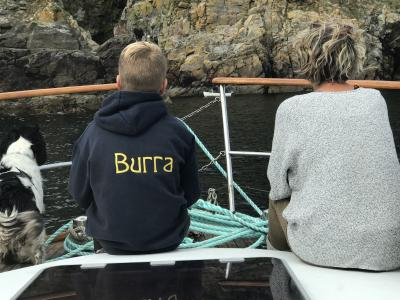 Boating in Burravoe & Heoganess